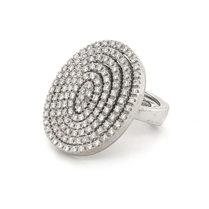 Diamond Articulated Swivel Ring