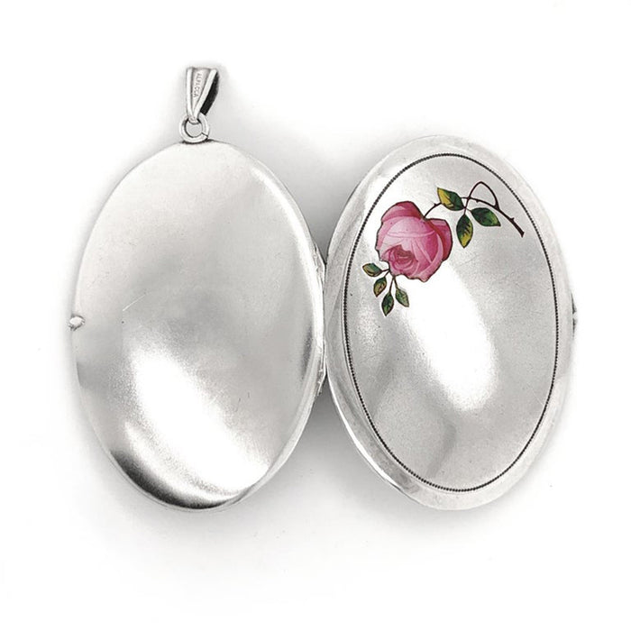 Antique Victorian Rose Locket