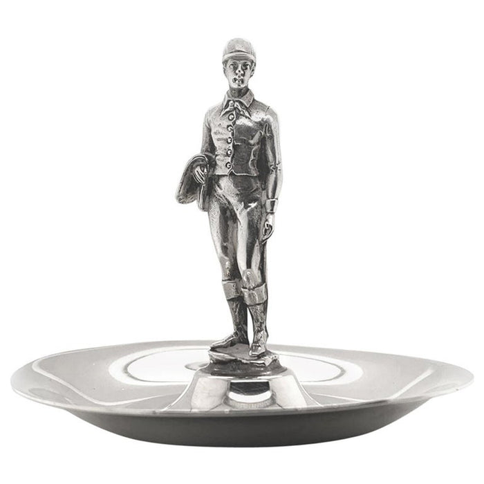 Tiffany & Co. Sterling Jockey Dish