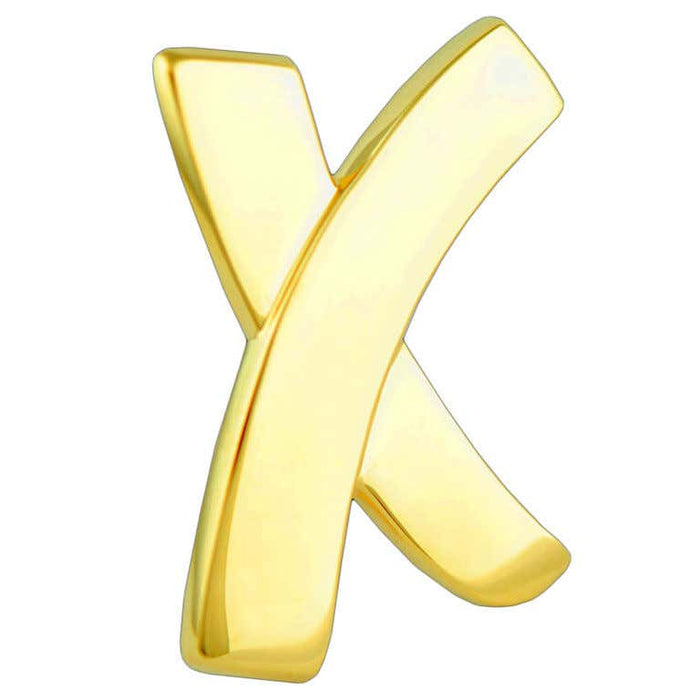 "Tiffany & Co. Paloma Picasso Large Gold Signature ""X"" Pin"