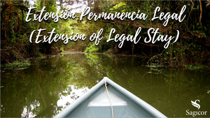 Extension of Legal Stay