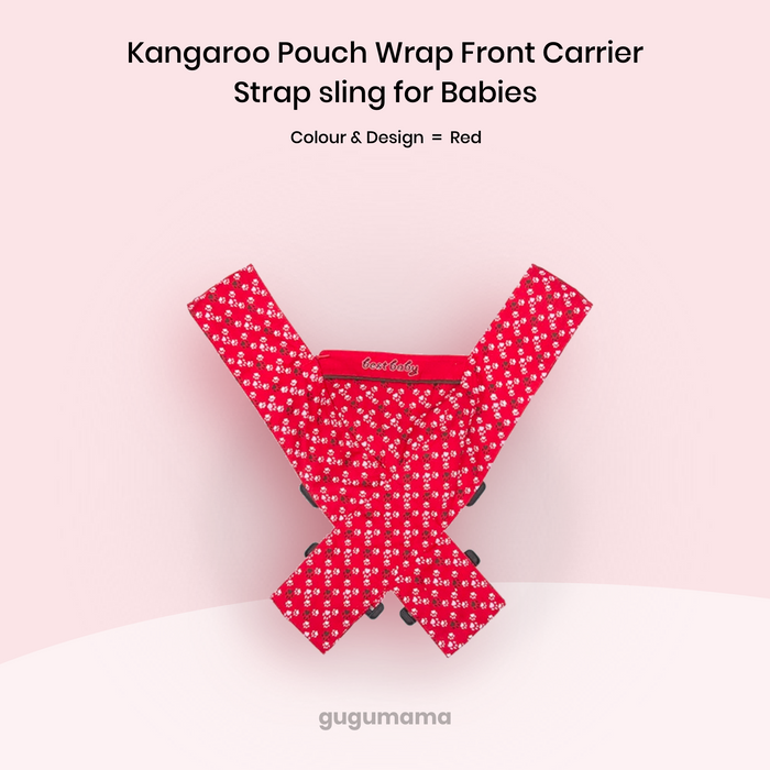 Baby Carrier Kangaroo Pouch Front Sling for Babies gugumama