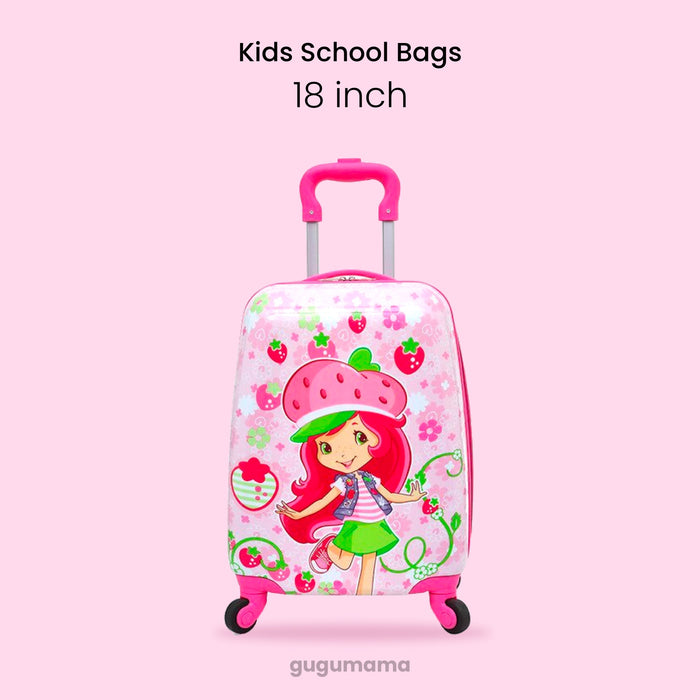 School Bags Cartoon Spinner Carry-Ons Wheeled Bag 16/18 inch gugumama