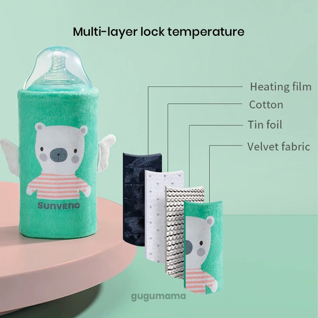 Baby Feeding Portable Milk Bottle Warmer Thermo Bag