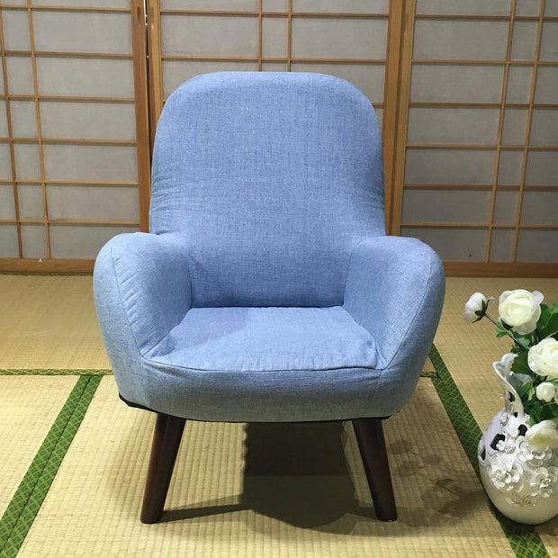 Single breastfeeding chair for pregnant women Breastfeeding sofa for backrest Japanese style small apartment fabric sofa and chi