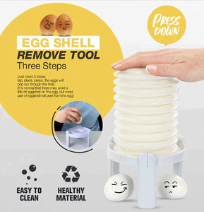 Quick Egg-Shell Removing Tool freeshipping - Kitchen Sizzle