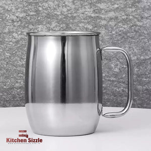 1L / 1000ml Large Capacity Stainless Steel Tea Mug freeshipping - Kitchen Sizzle