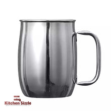 Load image into Gallery viewer, 1L / 1000ml Large Capacity Stainless Steel Tea Mug freeshipping - Kitchen Sizzle