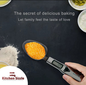 Electronic Kitchen Scale Spoon freeshipping - Kitchen Sizzle