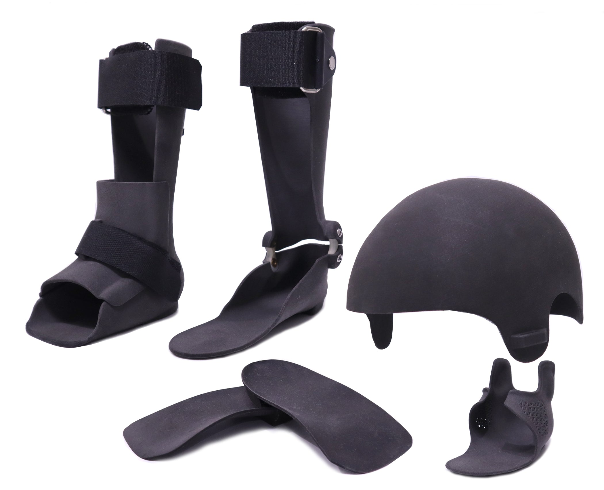 Examples 3D Printed Orthoses