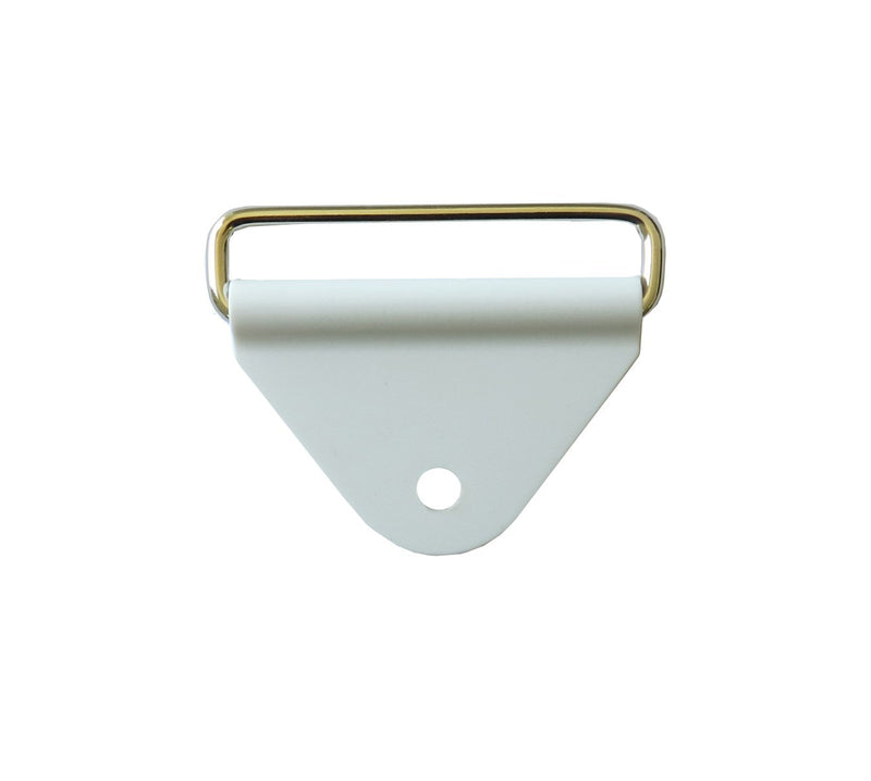 "Chafes & Loop 2.0"" Triangle White w/ Rectangle SS Loop"