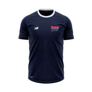Barmy Army x NB - Performance T-Shirt - Navy - Women's