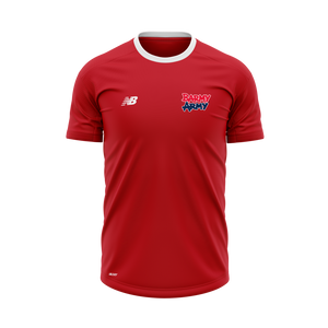 Barmy Army x NB - Performance T-Shirt - Red - Women's