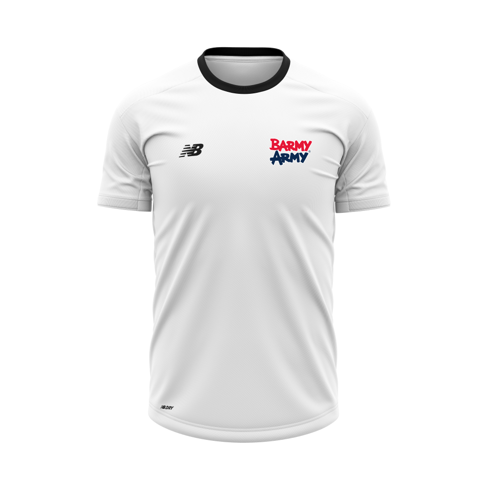 Barmy Army x NB - Performance T-Shirt - White - Women's