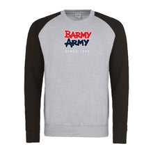 Load image into Gallery viewer, Barmy Army SINCE 1994 Contrast Sweatshirt