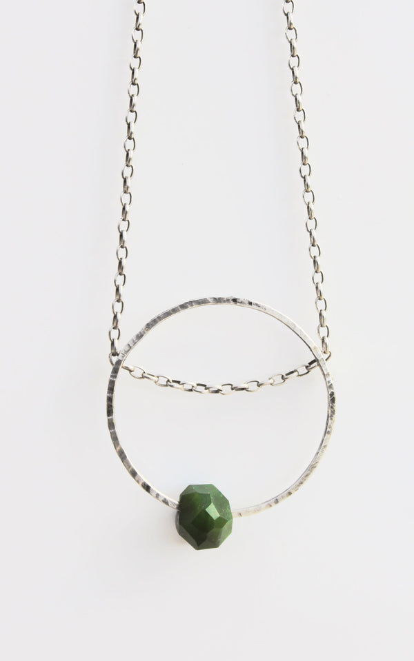 Geo Bead Chain Necklace NZ Pounamu