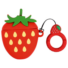 Load image into Gallery viewer, Cartoon Fruit Cases for Airpods 1 2 - Strawberry