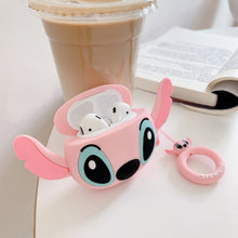Load image into Gallery viewer, 3D Cute Silicone Earphone Case For AirPods 1 2 Case - Stitch