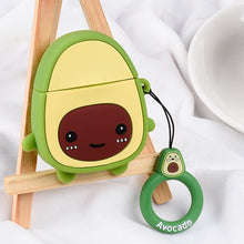 Load image into Gallery viewer, Cute Cartoon Cases For Apple AirPods 1 2 - Avocado 02