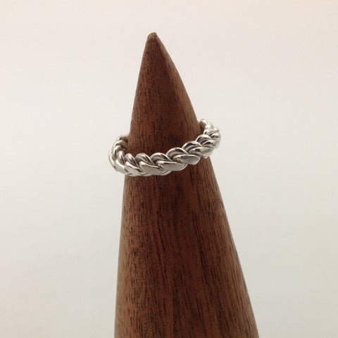 Complex Twist Ring (size 3.375)