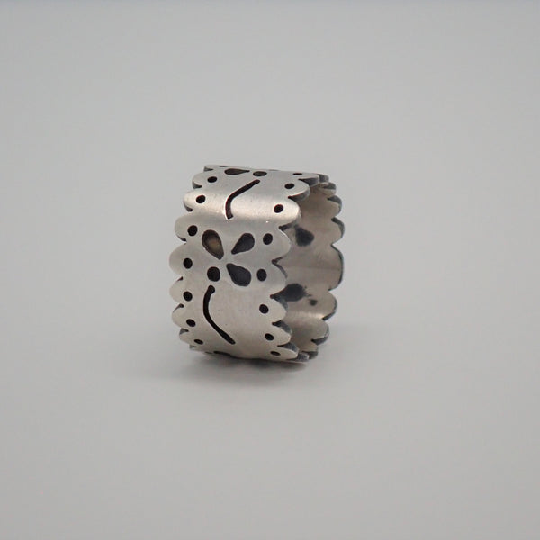 Two Layer Floral Ring (size 6.5)