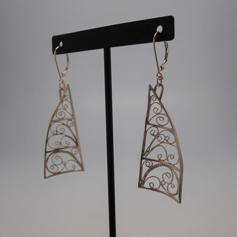 Jib Sail Earrings