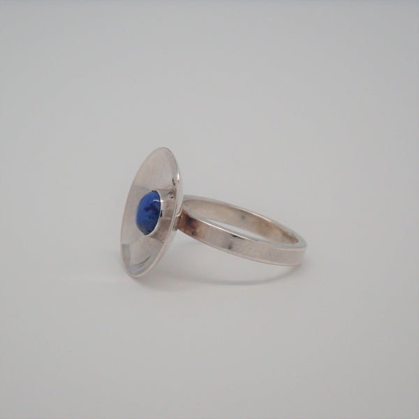 Center Stage Lapis Ring (size 5.75)