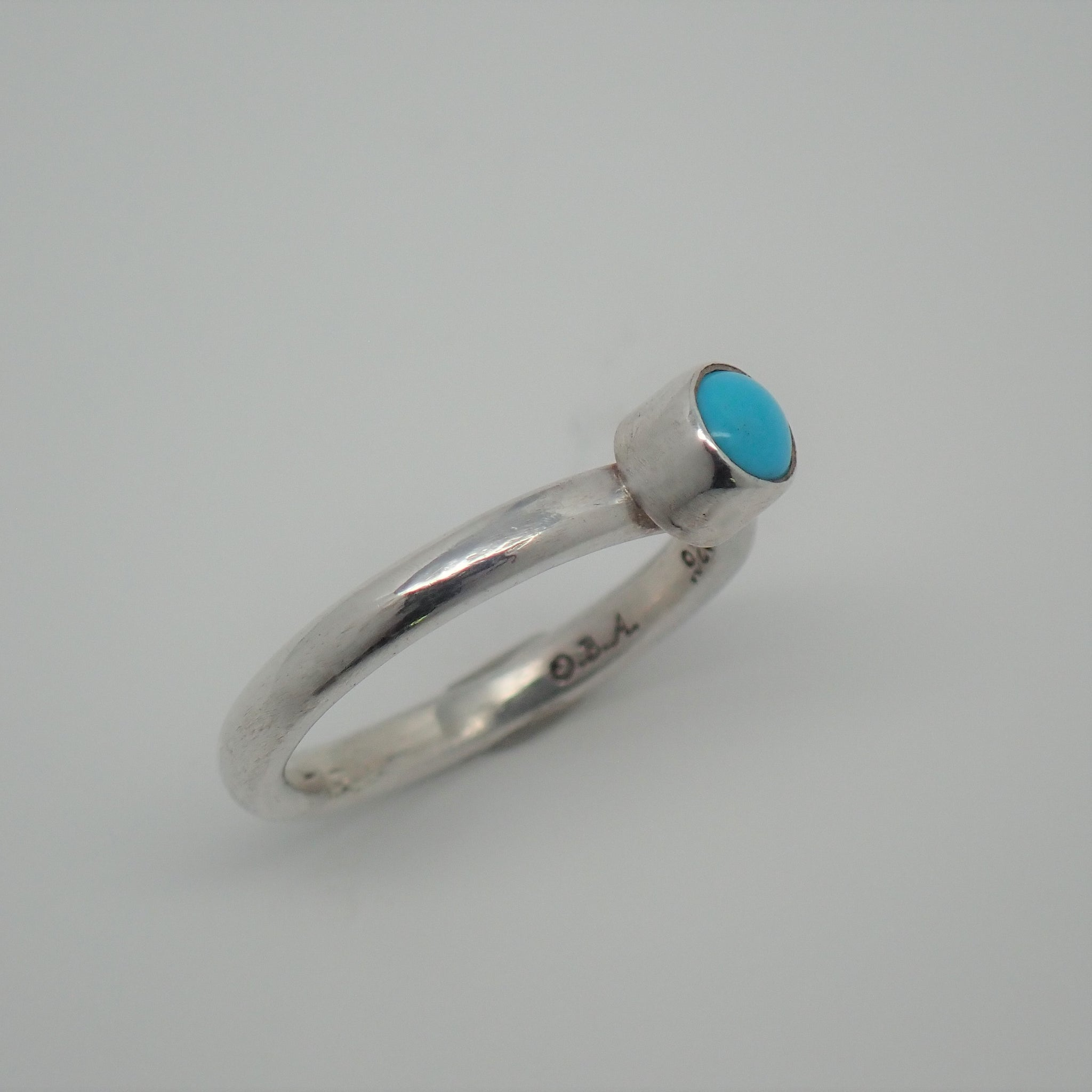 Sleeping Beauty Turquoise Ring (size 7)