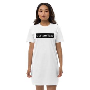 Open image in slideshow, Personalizable t-shirt dress