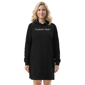 Open image in slideshow, Personalizable Hoodie dress