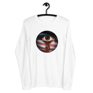 American Teardrop-Unisex Long Sleeve Tee - Shout Louder Shirts