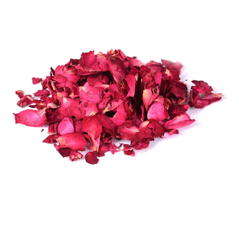 Ethereally Wicked 200001377 New Romantic 30/50/100g Natural Dried Rose Petals Bath Dry Flower Petal Spa Whitening Shower Aromatherapy Bathing Supply