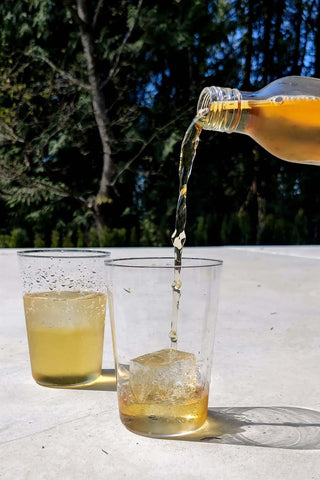 refreshing cold brew tea is great for a hot summer day