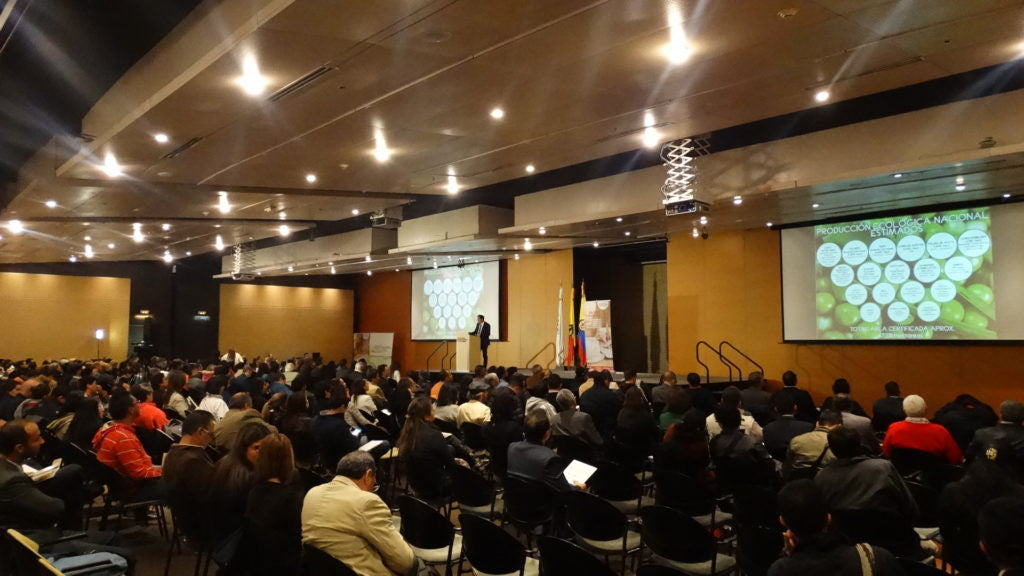 Total Success of the IV Organic Forum in Colombia!