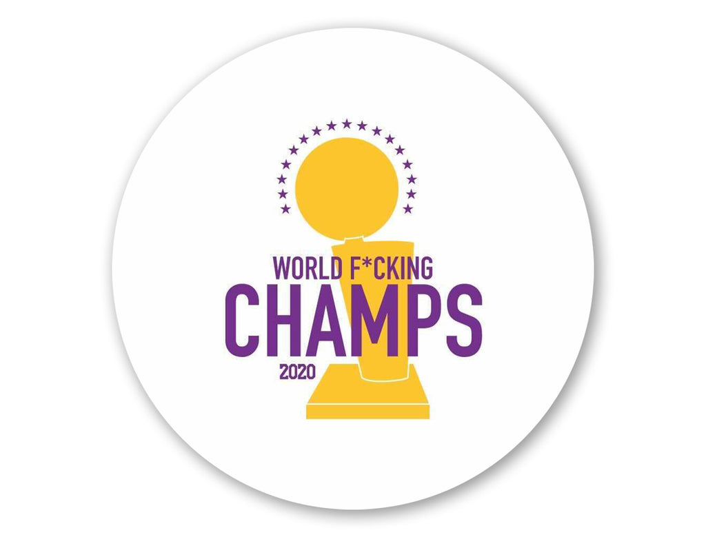 World F*king Champs Coaster