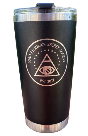 Lord Pelinka's Secret Society 20 oz Tumbler