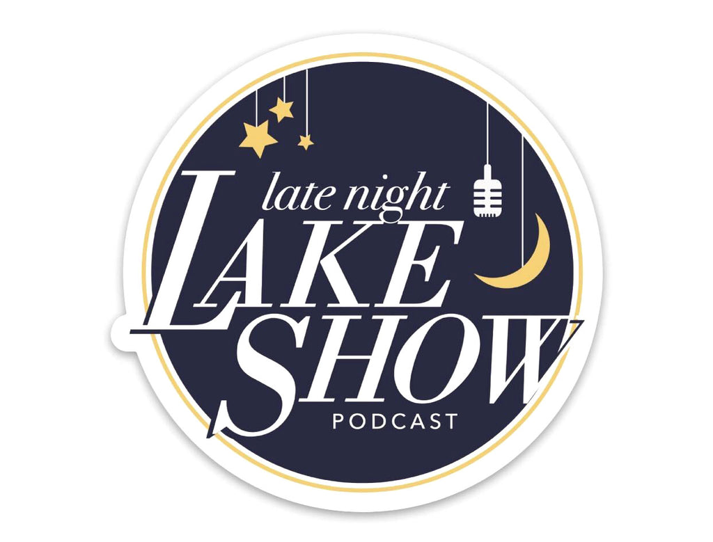 Late Night Lake Show Magnet