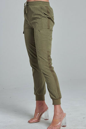 Laura Pocketed Detail Joggers