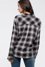 Load image into Gallery viewer, Plaid Flannel Shirt
