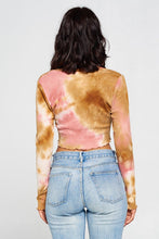 Load image into Gallery viewer, Kendra Tie Dye Top