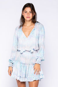 Breanna Tie Dye Smock Dress