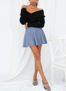Diana Sweater Mini Skirt