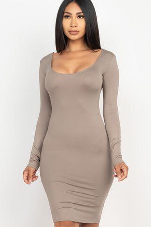Selena Scoop Back Dress