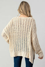 Load image into Gallery viewer, V-Neck Oversized Sweater