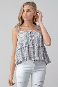 Carly Shoulder Tie Top