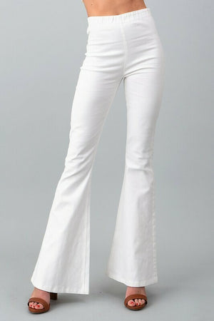 High Waist Flared Bell Bottoms