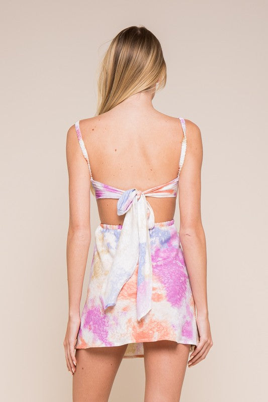 Gracie Tie Dye Mini Dress