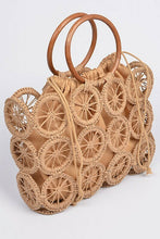 Load image into Gallery viewer, Monotone Crochet Handbag