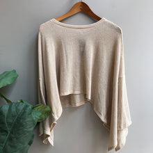 Load image into Gallery viewer, Giselle Wide Sleeve Knit Top