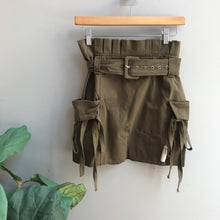 Load image into Gallery viewer, High Waist Cargo Skirt